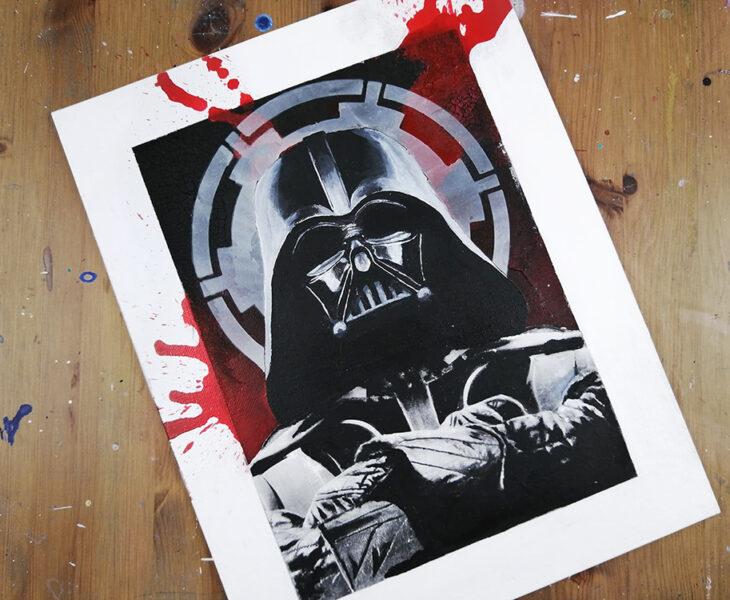 Darth Vader étape par étape